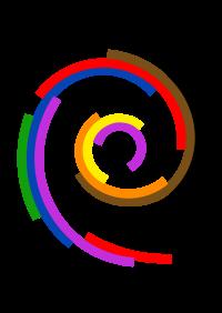 logotipo Debian Diversidade